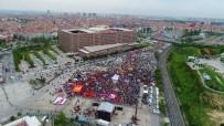 HALK PAZARI - Bakırköy'de 1 Mayıs Coşkusu Havadan Görüntülendi