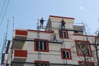 Batman'da İnşaat İşçileri 1 Mayıs'ta Da Çalışıyor