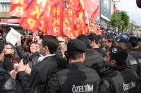POLİS MÜDAHALE - Beşiktaş'tan Taksim'e Yürümek İsteyen Gruba Müdahale