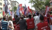 İLKAY - Bursa'da 1 Mayıs Yürüyüşünde Kavga Çıktı