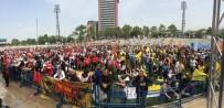 EMEK PARTISI - Bursa'daki 1 Mayıs Kutlamalarında 3 Bin 500 Polis Görev Aldı