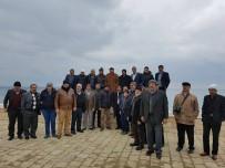 ÇANAKKALE SAVAŞı - Dadaylı Muhtarlar, Çanakkale Şehitliğini Gezdi