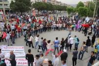 KAZıM ARSLAN - Denizli'de 1 Mayıs Yürüyüş Ve Halaylarla Kutlandı