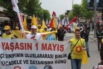 HÜSEYIN ARSLAN - Düzce'de 1 Mayıs Kutlamalarına Katılım Az Oldu