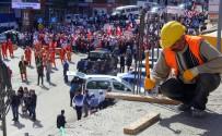 MAHMUT ARSLAN - Hak-İş 1 Mayıs'ı Binlerce Katılımcıyla Erzurum'da Kutladı