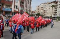 DOĞUŞ - Hatay'da 1 Mayıs Yürüyüşü