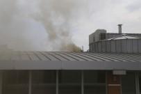 GÖRGÜ TANIĞI - İçişleri Bakanlığı Ek Hizmet Binası Yanında Yangın Paniği