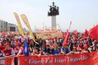 TERTIP KOMITESI - İzmir'de 1 Mayıs Coşkusu