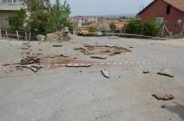 RÖGAR KAPAĞI - Kırıkkale'de Rögar Kapağı Patlaması