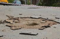 RÖGAR KAPAĞI - Rögar Kapağı Bomba Gibi Patladı