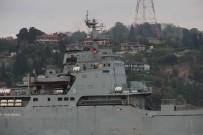 DENİZ POLİSİ - Rus Savaş Gemisinde Dikkat Çeken Ayrıntı