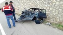 Sungurlu'da Kaza Açıklaması 1 Ölü, 2 Yaralı