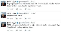 ŞAMİL TAYYAR - Tayyar'dan 'Pes' Açıklaması