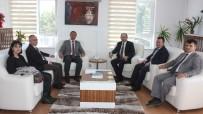 TÜRK TARIH KURUMU - Türk Tarih Kurumu Başkanı Hattuşa'yı Ziyaret Etti