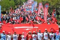 UTKU ÇAKIRÖZER - Türkiye Kamu-Sen 1 Mayıs'ı Eskişehir'de Kutladı