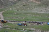 SULAMA KANALI - Adilcevaz'da Sulama Kanalı Yenileme Çalışması
