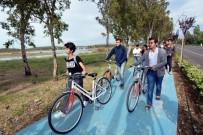 KUŞ CENNETİ - Aliağa Bisikletçilerin Uğrak Yeri Oldu