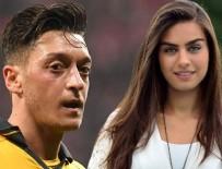ARSENAL - Amine Gülşe morali bozulunca Mesut Özil'in yanına gitti