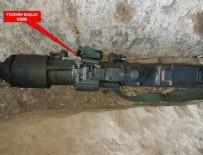 Bestler Dereler'de Rus menşei hava savunma füzesi ele geçirildi