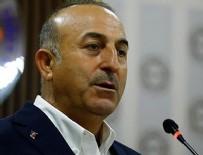 Çavuşoğlu: YPG'ye verilen her silah Türkiye için tehdittir