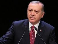 Cumhurbaşkanı Erdoğan'dan 'ABD'nin YPG'ye ağır silah' yardımına ilişkin açıklama
