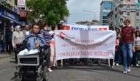ALTI NOKTA KÖRLER DERNEĞİ - Diyarbakır'da Engelliler Haftası Yürüyüşü