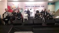 EŞREF ARMAĞAN - Dünyaca Ünlü Görme Engelli Türk Ressamın Eserleri Yenikapı Metro İstasyonu'nda