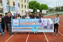 OBEZİTE - Edirne'de Obeziteye Dikkat Çekmek İçin Öğrenciler Yürüdü