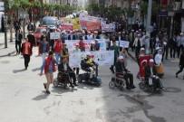 MEHMET FEVZİ DÖNMEZ - Elazığ'da Engellilerden Farkındalık Yürüyüşü