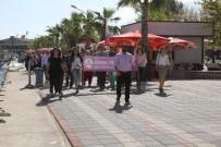 AİLE DANIŞMA MERKEZİ - Fethiyeli Engellilerden Anlamlı Yürüyüş