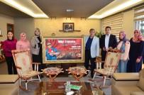 TEVFİK İLERİ - Hanım Evleri Yöneticilerinden Başkan Çetin'e Teşekkür Ziyareti