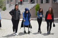 İki Bacağını Kaybetti Hayallerinden Vazgeçmedi