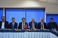 VERGİ DAİRESİ BAŞKANLIĞI - Konya SMMMO Ve Vergi Dairesi Başkanlığından İstişare Toplantısı