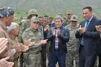 ESENDERE - Korgeneral Çetin Sınır Kapısında