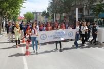 Niğde'de Engelliler Haftası Nedeniyle Yürüyüş Düzenlendi