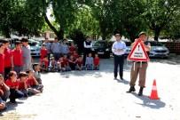 TRAFİK EĞİTİMİ - Sarıgöl'de Jandarmadan Trafik Eğitimi