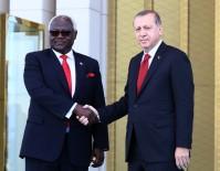 SIERRA LEONE - Sierra Leone Cumhurbaşkanı Koroma, Türkiye'de