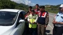 AĞAÇLı - Söke'de Engellilerden Sürücülere Trafik Uygulaması