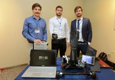 Üniversiteliler bomba imha eden robot tasarladı