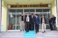 Vali Toprak'tan Müdür Şimşek'e Ziyaret