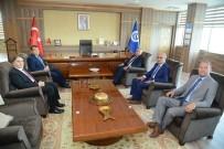 AHMET OKUR - YÖK Başkan Vekili Prof. Dr. Hasan Mandal Uşak'ta