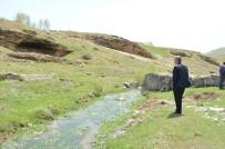 SULAMA KANALI - Adilcevaz'da Sulama Göleti Çalışması