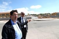 İSTİNAT DUVARI - Aksaray'da Altyapı Çalışmaları