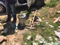 ENGILI - Akşehir'de Kaçak Kazı Yapan 4 Kişi Yakalandı