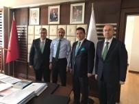 CENGİZ YAVİLİOĞLU - Başkan Bakıcı Ankara'da Temaslarda Bulundu