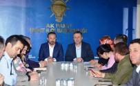 YENİ ANAYASA - Başkan Doğan, AK Parti İzmit İlçe Başkanı Ve Yönetimini Ziyaret Etti