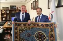 MEHMET KELEŞ - Başkan Keleş, Uşak'ta Ziyaretlerde Bulundu