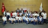 HALİL İBRAHİM ŞENOL - Başkan Şenol'dan Miniklere Yerel Yönetim Dersi