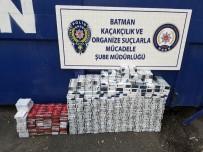 Batman'da 6 Bin 815 Paket Kaçak Sigara Ele Geçirildi