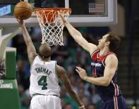HOUSTON - Boston Celtics, Washington Karşısında Avantajı Yakaladı
